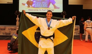 Potiguar foi medalha de bronze no IBSA Judo International Qualifier (Foto/Divulgação)